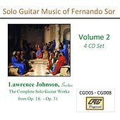 Solo Guitar Music of Fernando Sor Volume 2 by Lawrence Johnson