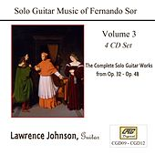 Solo Guitar Music of Fernando Sor Volume 3 by Lawrence Johnson