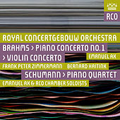 Brahms: Piano Concerto No. 1 & Violin Concerto - Schumann: Piano Quartet by Various Artists