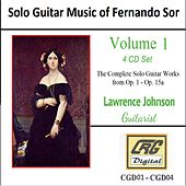 Solo Guitar Music of Fernando Sor Volume 1 by Lawrence Johnson