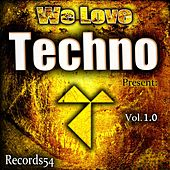 We Love Techno Present: Records54, Vol. 1.0 by Various Artists