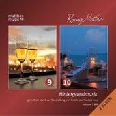 Hintergrundmusik, Vol. 9 & 10 - Gemafreie Musik zur Beschallung von Hotels & Restaurants (inkl. romantische Klaviermusik) by Ronny Matthes