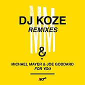 Play & Download For You (DJ Koze Remixes) by Michael Mayer | Napster