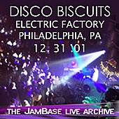 Play & Download 12-31-01 - Electric Factory - Philadelphia, PA by The Disco Biscuits | Napster