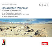 Mahnkopf: Hommage à György Kurtág & Kurtág-Duo by Various Artists