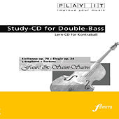 Play & Download PLAY IT - Study-CD for Double-Bass: Gabriel Fauré & Camille Saint-Saëns, Sicilienne op.78 + Élégie op.24 + L'éléphant + Tortues by Various Artists | Napster