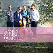 Play & Download Different Voices: String Quartets Sibelius, Kaipainen & Tiensuu by Kamus Quartet | Napster