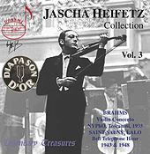 Jascha Heifetz Collection, Vol. 3 (Live) by Jascha Heifetz
