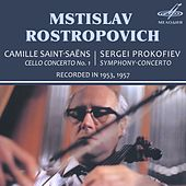 Play & Download Saint-Saëns: Cello Concerto No. 1 - Prokofiev: Symphony-Concerto by Mstislav Rostropovich | Napster