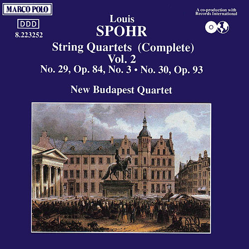 Play & Download String Quartets Nos. 29 & 30 by Louis Spohr | Napster