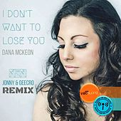 I Don't Want To Lose You by Jonny