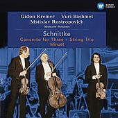 Schnittke: Concerto for Three, String Trio & Minuet (Live) by Mstislav Rostropovich