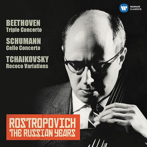 Schumann: Cello Concerto - Tchaikovsky: Rococo Variations (The Russian Years) de Mstislav Rostropovich