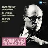 Play & Download Miaskovsky: Cello Concerto - Glazunov: Concerto ballata (The Russian Years) by Mstislav Rostropovich | Napster