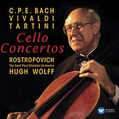 Baroque Cello Concertos by Mstislav Rostropovich
