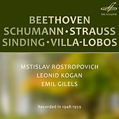Play & Download Beethoven, Schumann, Strauss, Sinding, Villa-Lobos: Chamber Music by Various Artists | Napster