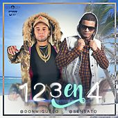Play & Download 1,2,3 en 4 (feat. Sensato) by Don Miguelo | Napster