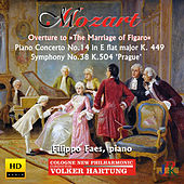 Play & Download Mozart: Overture to The Marriage of Figaro, Piano Concerto No. 14 & Symphony No. 38 by Various Artists | Napster