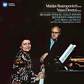 Beethoven: Cello Variations - Strauss, Richard: Cello Sonata by Mstislav Rostropovich