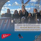Letter from Home by Brass Quintet and Percussion Marine Band of the Royal Netherlands Navy