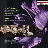 SCHOENBERG, A.: String Quartet No. 2 / WEBERN, A.: Langsamer Satz / BERG, A.: Lyrische Suite (excerpt) (C. Schafer, Petersen Quartet) by Various Artists