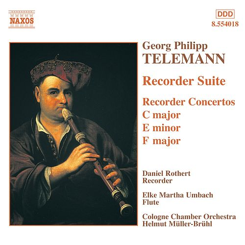 Suite and Concertos For Recorder by Georg Philipp Telemann