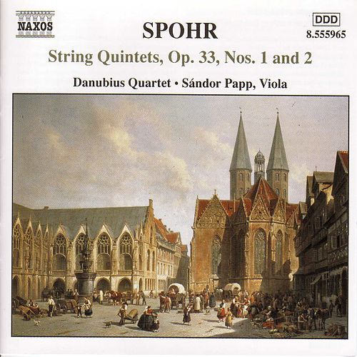 Complete String Quintets, Volume 1 by Louis Spohr