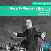 Play & Download Mozart - Wagner - Brahms, Orchestre National de la RTF, Concert du 05/05/1955, Bruno Walter (dir) by Orchestre national de la RTF and Bruno Walter | Napster