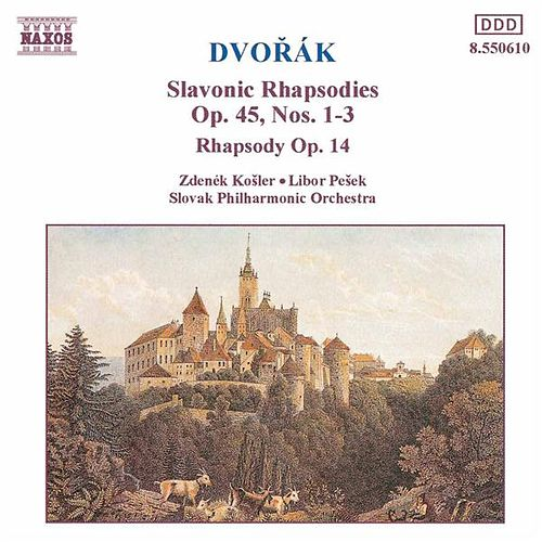 Slavonic Rhapsodies by Antonin Dvorak