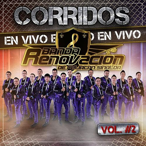 Corridos en Vivo, Vol. 2 by Banda Renovacion