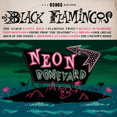Neon Boneyard by Black Flamingos