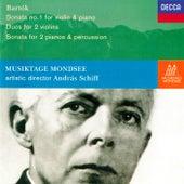 Bartók: Violin Sonata No. 1; Sonata for 2 Pianos & Percussion; 10 Duos by Various Artists