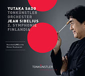 Play & Download Sibelius: Symphony No. 2, Op. 43 & Finlandia, Op. 26 by Tonkünstlerorchester | Napster