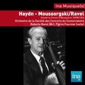Play & Download Festival de musique de Besançon, J. Haydn - M. Ravel - M. Moussorgski, Orchestre de la Société des concerts de Paris, Concert du 10/09/1952, Roberto Benzi (dir), Pierre Fournier (violoncelle) by Various Artists | Napster