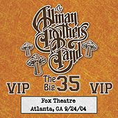 Fox Box: 3 Nights Live at Fox Theatre in Atlanta, Ga (September 24, 2004) by The Allman Brothers Band