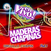 Orgullo Chapin Vol. 1. Música de Guatemala para los Latinos (En Vivo) by Marimba Maderas Chapinas
