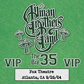 Fox Box: 3 Nights Live at Fox Theatre in Atlanta, Ga (September 26, 2004) by The Allman Brothers Band