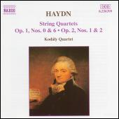 Play & Download String Quartets Opp. 1 and 2 by Franz Joseph Haydn | Napster
