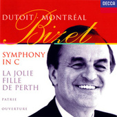Play & Download Bizet: Symphony in C; La joie fille de Perth Suite; Patrie! by Charles Dutoit | Napster