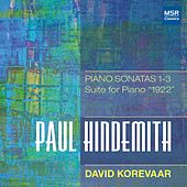 Hindemith: Piano Sonatas Nos. 1-3; Suite for Piano