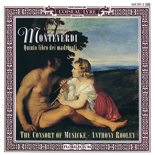 Monteverdi: Quinto libro dei madrigali by Anthony Rooley