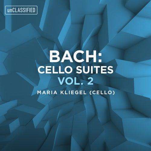 Bach: Cello Suites, Vol. 2 by Maria Kliegel