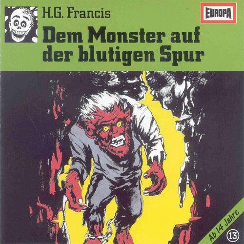 013/Dem Monster auf der blutigen Spur von Gruselserie
