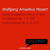 Red Edition - Mozart: Sechs Ländlerische Tänze, K. 606 & Violin Concerto No. 2, K. 211 by Various Artists