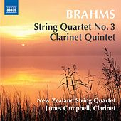 Brahms: String Quartet No. 3, Op. 67 & Clarinet Quintet, Op. 115 by Various Artists