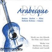 Play & Download Duo Arabesque (Musik aus der Klassik für Flöte und Gitarre) by Bettina Herbst | Napster