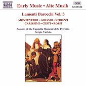 Lamenti Barocchi (Baroque Laments) Vol. 3 von Various Artists