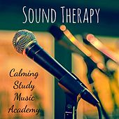 Sound Therapy - Calming Study Music Academy for Deep Focus Relaxation Technique with New Age Yoga Nature Sounds by Various Artists