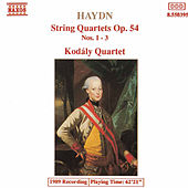 Play & Download String Quartets Op. 54, Nos. 1 - 3 by Franz Joseph Haydn | Napster
