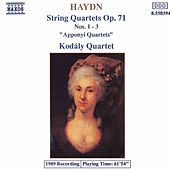 Play & Download String Quartets Op. 71, Nos. 1-3 by Franz Joseph Haydn | Napster